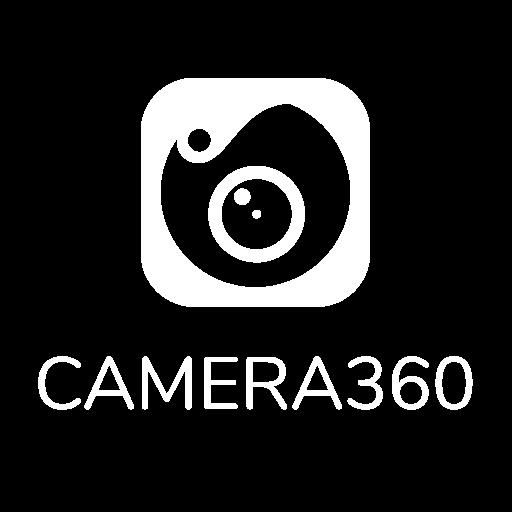 Camera 360 Logo White