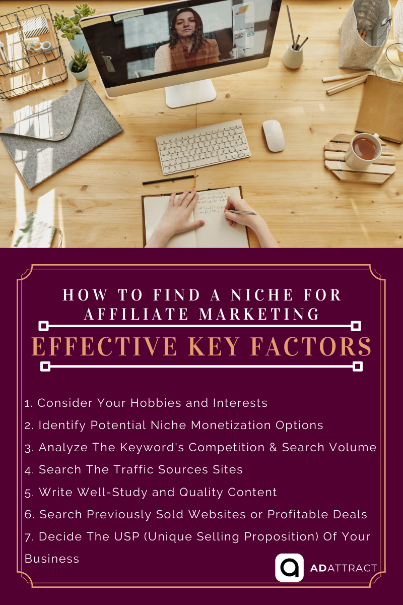 Effective Key Factors For How to Find a Niche For Affiliate Marketing