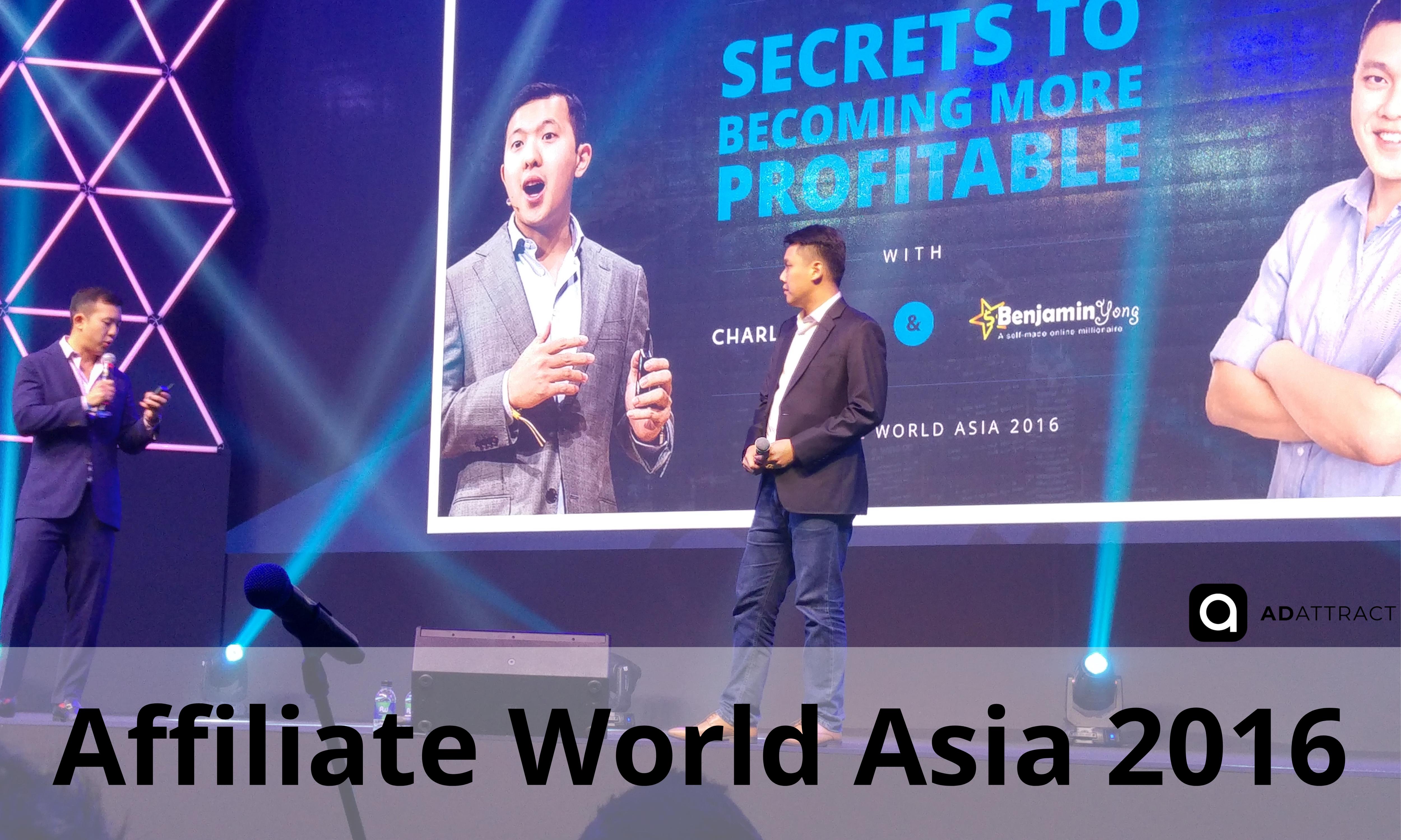 Affiliate World Asia 2016