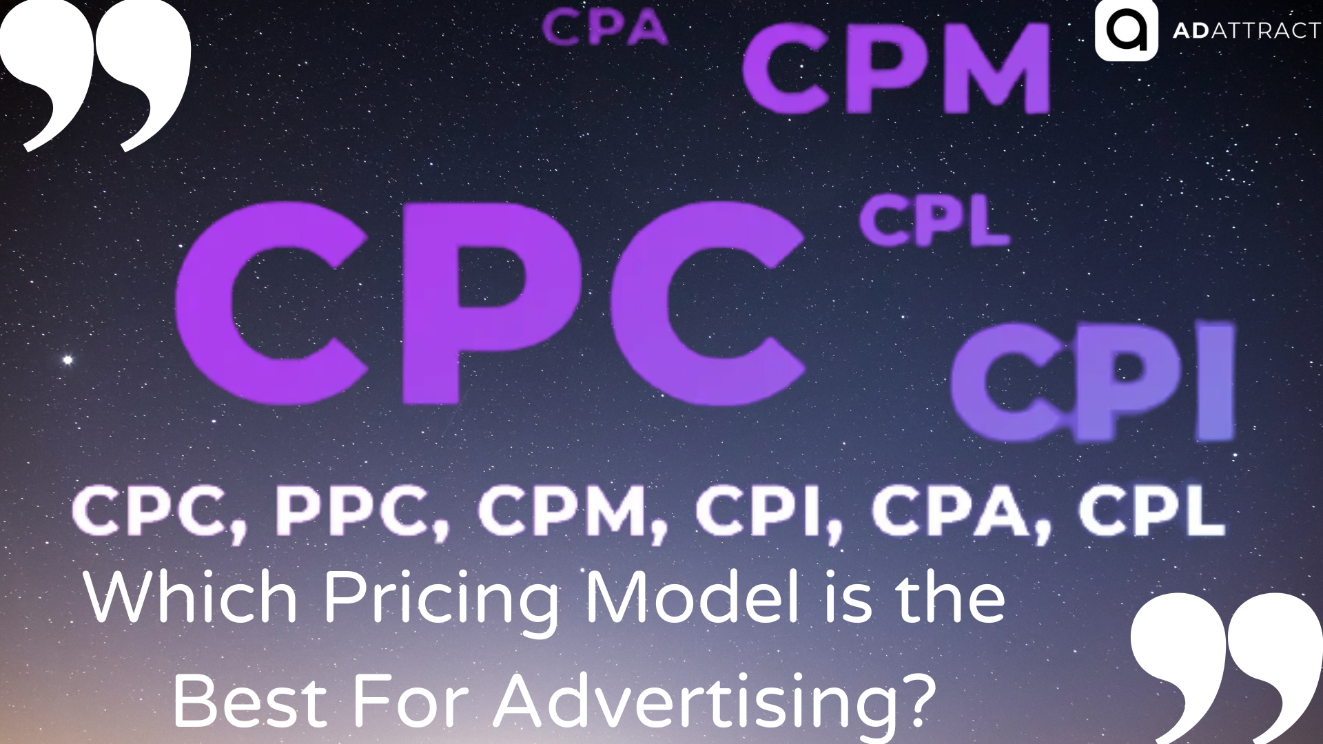 Which Pricing Model is the Best For Online Advertising?
