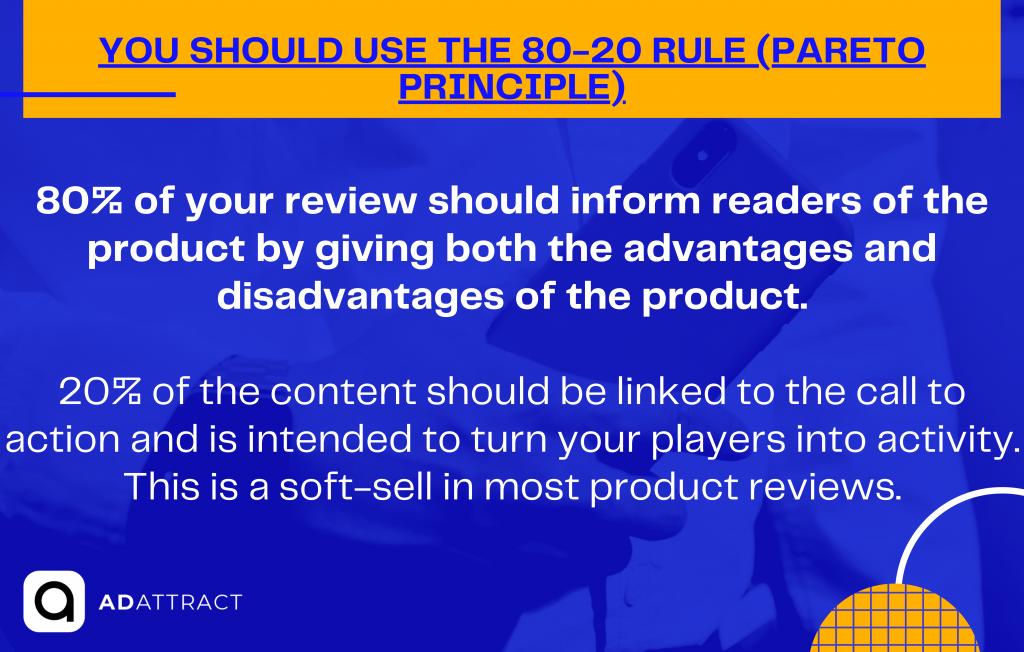 You should use the 80-20 rule (Pareto principle)