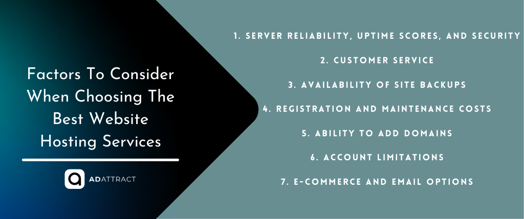 Factors To Consider When Choosing The Best Website Hosting Services