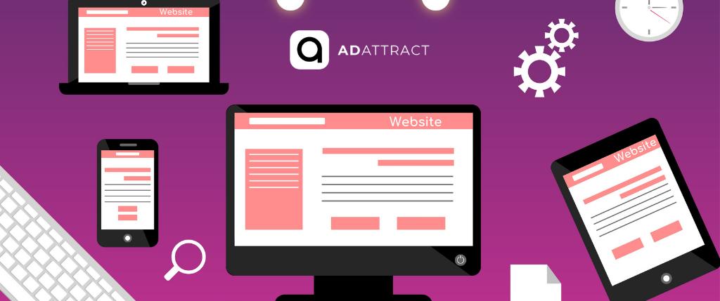 Set up a free website as a flagship